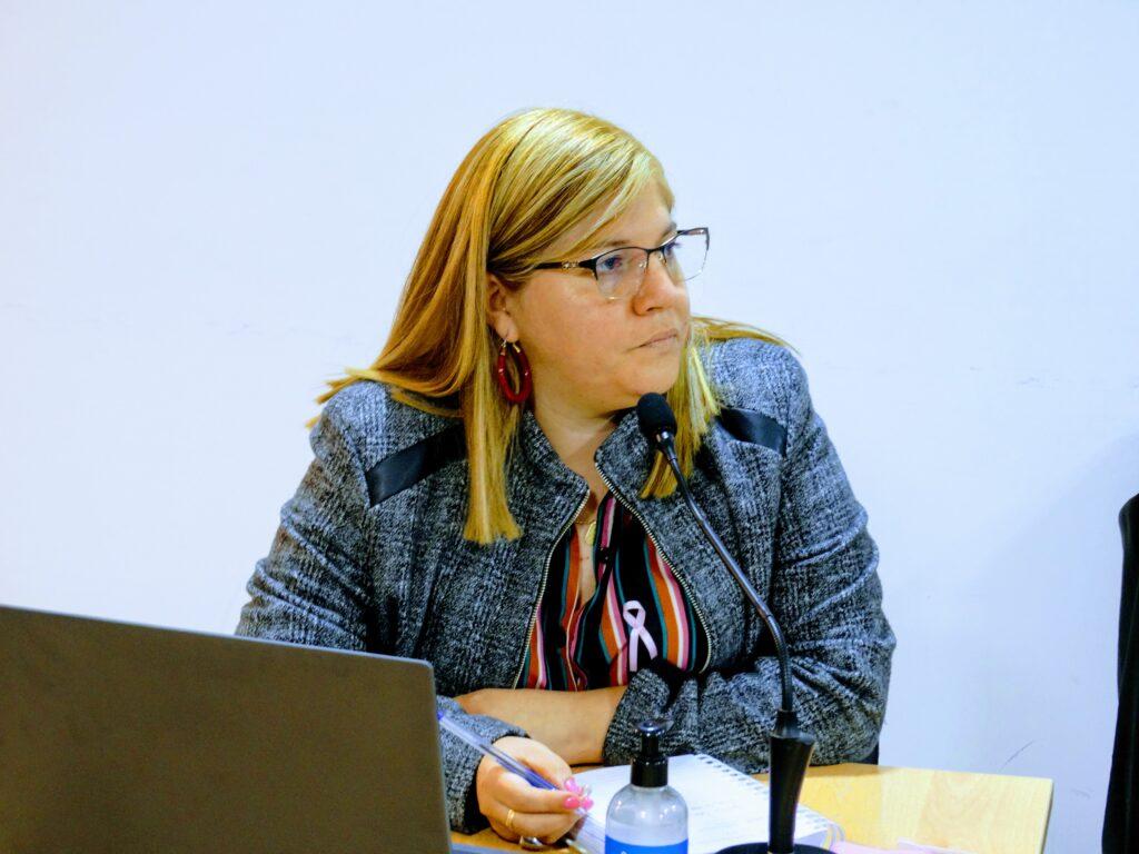 Concejala Natalia Quiñonez